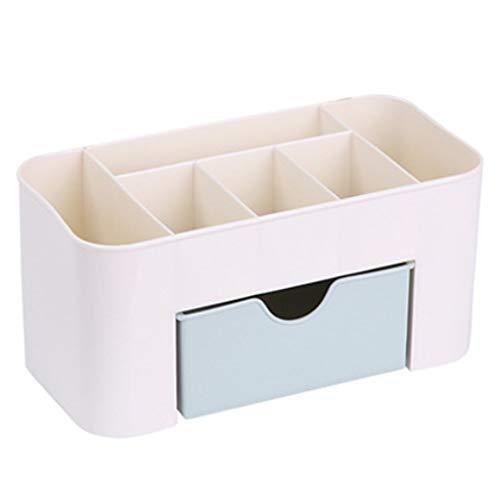 JER Desktop Make-up-Organizer Aufbewahrungsbox Kunststoff Box Kosmetik Organizer Storage Fall