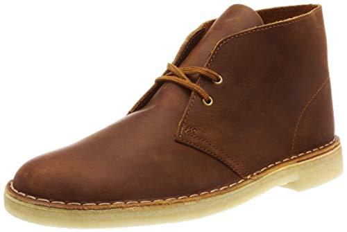 Clarks Originals Herren Desert Boots, Braun (Beeswax Leather), 46 EU