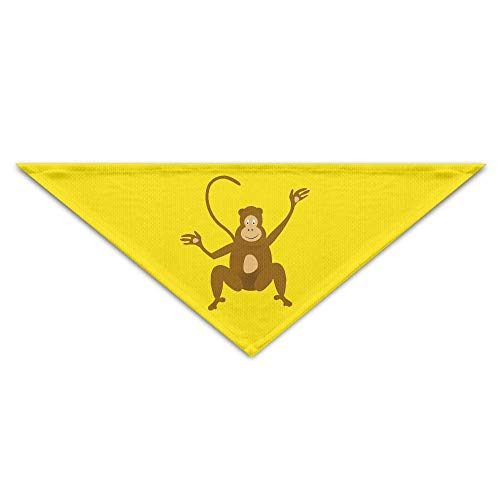 Cute Kostüm Baby Monkey - Rghkjlp Monkey Cute Cartoon Pet Bandana Triangle Dog Cat Neckerchief Bibs Scarfs Accessories for Pet Cats and Baby Puppies