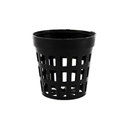 Xiton Aquarium Wasser Gras Korb 20Pcs Plastikwasser-Blumentopf Fisch-Behälter-Miniwasserpflanze Wachsende Basket