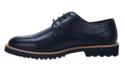 Scarpe uomo class blu scuro invernali calzature shoes casual eleganti (43)