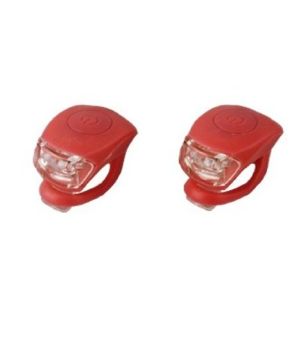 Mini LED Silikonleuchte 2er Set (Red)