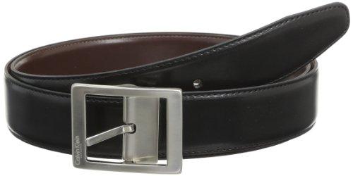 Calvin Klein - Ceinture - Uni - Homme - Noir - FR: 110 cm (Taille fabricant: Taille Unique)