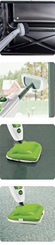 Eglemtek® Steam Mop X10 Evolution 10-in-1 Dampfreiniger mit umfangreichem Zubehör - 4