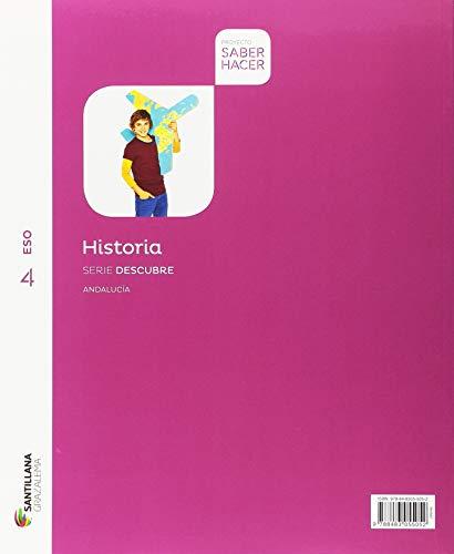 HISTORIA SERIE DESCUBRE 4 ESO SABER HACER - 9788491320401