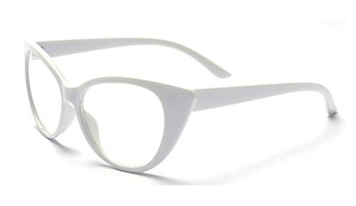 ALWAYSUV Brille Modische Brillen Klar Linsen Brille Clear Lens Glasses