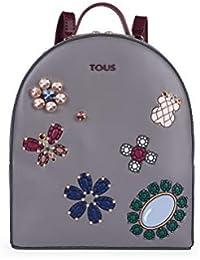 Tous Bolso Mochila S. Teatime Jewel Gris-Vino 895900116