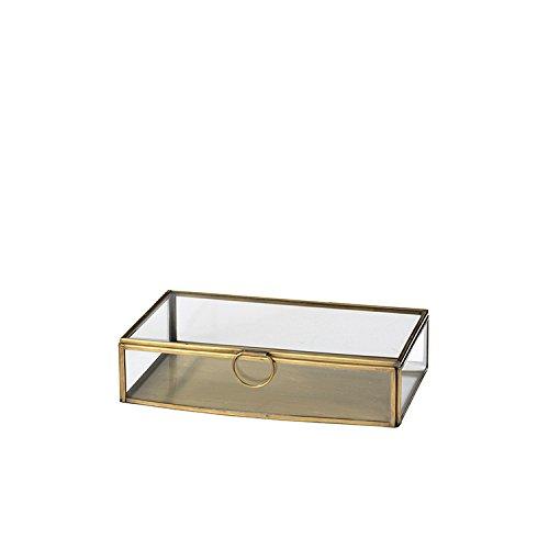 Messingbox Schmuckschatulle JANNI, 13x21 cm