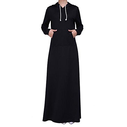 Ingsist Abaya Kleid Muslim Modische Kleider Klassisches Design Islamische Kleidung Maxi Kleid Frauen...