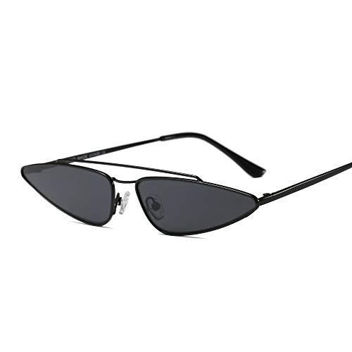 YOURSN Vintage Kleine Cat Eye Brille Frauen Einzigartigen Stil Retro Sonnenbrille Metall Fashion Catwalk Sonnenbrille Anti-Uv-Brille-C1
