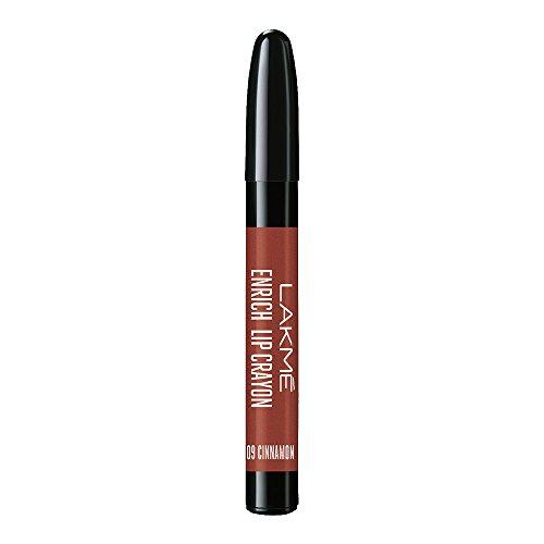 Lakme Enrich Lip Crayon, Cinnamon Brown, 2.2g