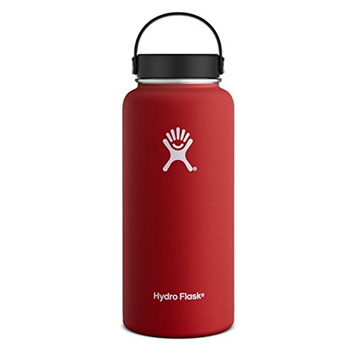 Hydro Flask 32 oz - 946 ml Wide Mouth - lava Größe OneSize