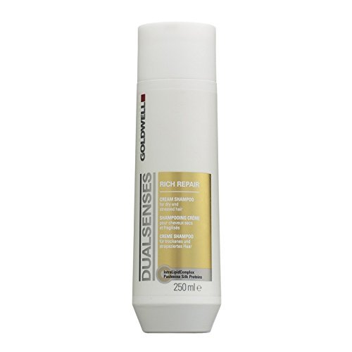 Goldwell Dualsenses rich Repair Cream shampoo Dry, Stressed Hair 250 ml set con Stapiz Hair shampoo 15 ml o maschera 10 ml