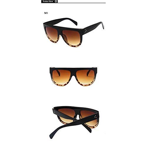 SKCLBOOS Sonnenbrillen Übergroße Frauensonnenbrille Kim Kardashian Glasses 2018 Trending Produkte Woman Mirrored Big Frame Brillen Ladies Dark Oculos