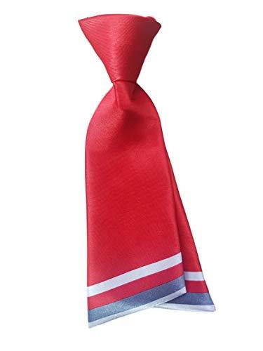 Damen mädchen mode vorgebunden satin schleife krawatte doppelschichtig Krawatte 10+ farben party kostüm von Fett-Catz-Kopie-catz - Rot Damen Krawatte, One size