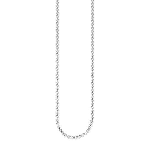 Thomas Sabo Damen-Kette Charm Club 925 Sterling Silber Länge 70 cm X0001-001-12-M