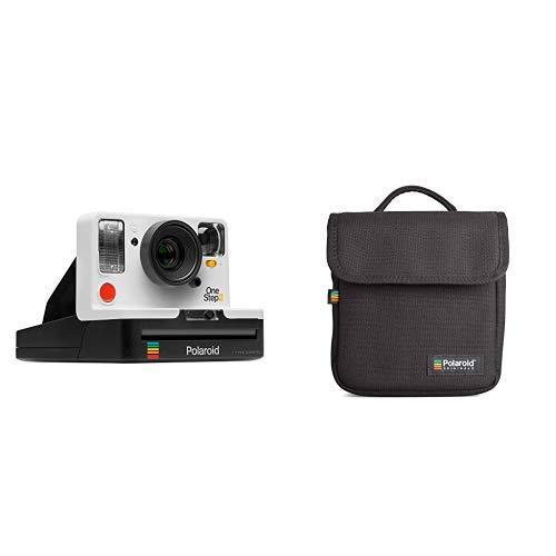 Polaroid Originals - 9008 - Neu One Step 2 ViewFinder Sofortbildkamera - weiß &  Originals Instant Kameratasche Schwarz Fuji Digital-kamera-bundle