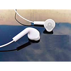 Samsung Headphone with Mic (White) for All Samsung Galaxy Smartphone and Universal Earphone for All Android Phone