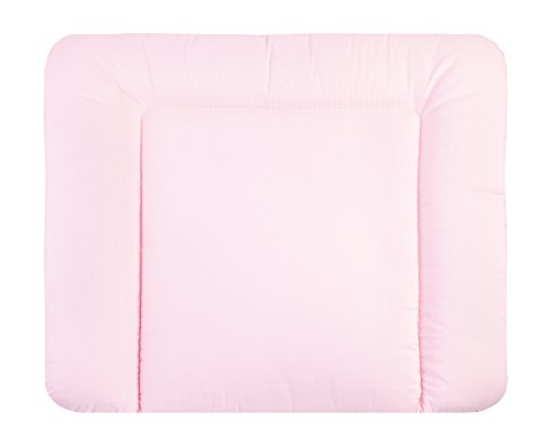 Julius Zöllner cambiador con la tela recubierta de vuelta 75 x 85 cm rosa uni