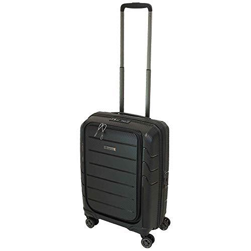 ee8f2edd8ed Franky Spinner Gr. S Handgepäck Koffer mit TSA-Zahlenschloss Schwarz