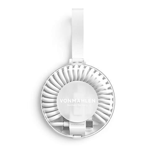 VONMÄHLEN allroundo All-in-One Ladekabel in Weiß mit 5 Anschlüssen & Spiralkabel – USB-A, Micro-USB, USB-C – 6in1 Universal Kabel mit Adapter zum Laden für Handy & Mobile Endgeräte