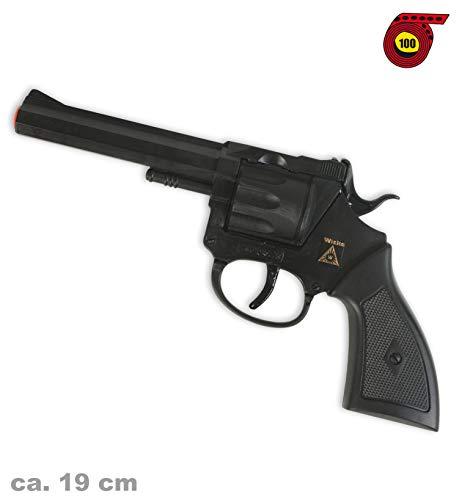 Revolver Rocky (100er-Streifen Munition), ca. 19 cm -