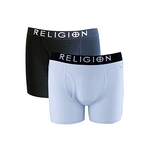 Religion Herren Boxershort, Slogan Weiß weiß Gr. S, weiß
