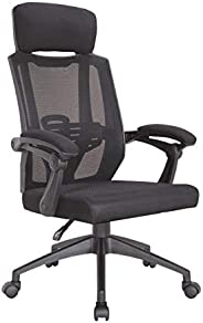 Multi Home Furniture MH-6143 Ergonomic Computer Desk Chair for Office and Gaming with headrest, back comfort and lumbar supp