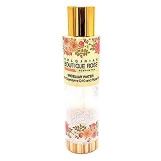 Agua Micelar con Aceite Natural de Rosa y Coenzima Q10 de Boutique Rose, Sin Parabenos
