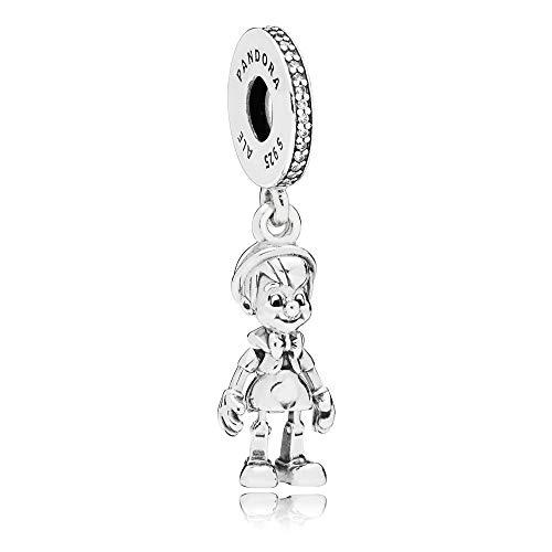 Pandora Charm Disney, Pinocchio Sterlingsilber 797489CZ (Charm Pandora Disney)