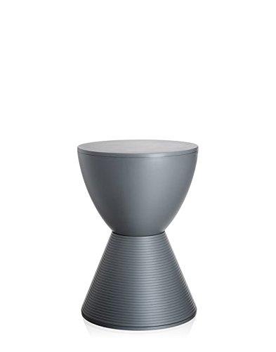 Kartell Prince AHA Hocker - taubengrau - Philippe Starck