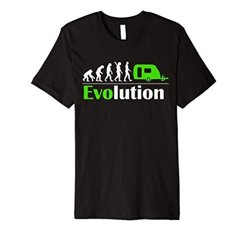 Camping Evolution T-shirt - Wohnwagen