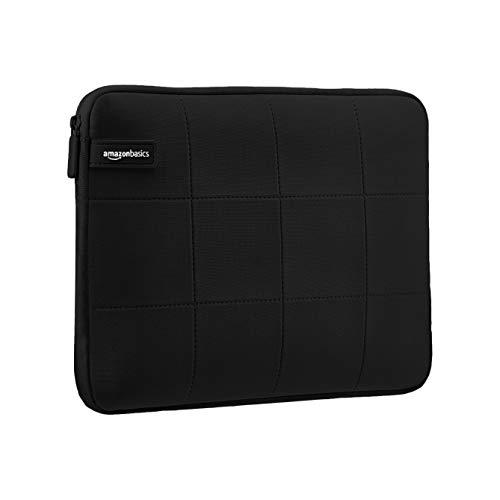 AmazonBasics - Urbane Laptop-Hülle, für Laptops bis 39,62 cm - schwarz -