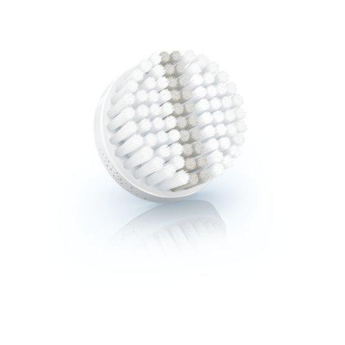 Philips SC5992/10 Ersatzbürstenkopf für VisaPure, Peeling, weiß/grau