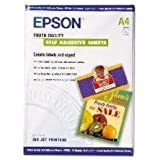 Epson C13S041106 - Papel Inkjet Mate y Autoadhesivo A4 167Gr 10 Hojas
