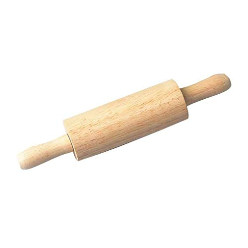 Uzinb Wooden Roller Dough Pastry Pizza Noodle Biscuit Tools Baking Bake Roasting Wood Rolling Pin