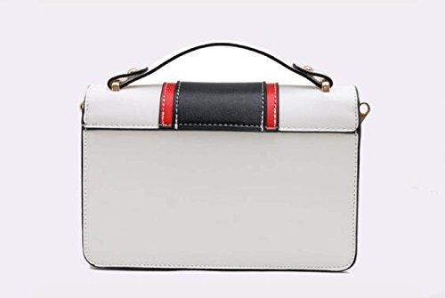 Dame Mini Chain Bag Wild Shoelace Handtasche Umhängetasche Einfache Messenger Bag A
