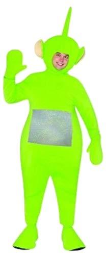 Erwachsene Kostüm Dipsy Für - Teletubbies Dipsy (Green) - Adult Standard Costume