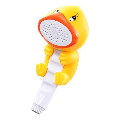 ndbrause, Badewanne Duschwerkzeug, Saugnapf Installation, kann als Badespielzeug Ente verwendet werden ()