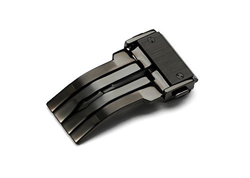 istrap-22mm-316l-stainless-steel-deployant-buckle-for-hublot-rubber-leather-watch-straps-black-pvd