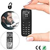 Blacktree Electronic Mini Mobile Phone Unlocked Bluetooth Dialer Cell Phone GSM with MP3