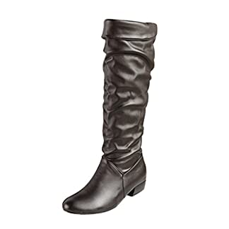 Women's Boots, Xinantime Ladies High Tube Flat Heels Riding Boots Knee High Shoes Long Boots
