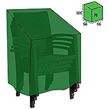 Papillon 8327000 - Funda cubre sillas apilable, 66 x 66 x 76 x 106 cm