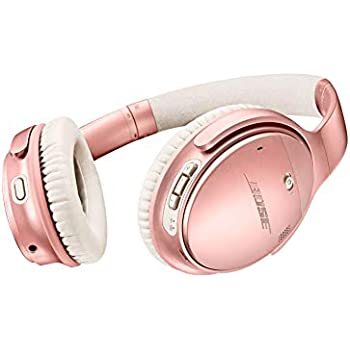 7a9e02a7115 Bose QuietComfort 35 Wireless Headphones II, Rose Gold with Bose AR -works  with Alexa voice control