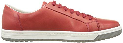 Geox Uomo Rikin Herren Sneakers Rot (Redc7000)
