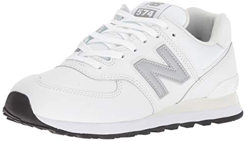 New Balance Herren 574v2 Sneaker, Weiß (Munsell White/Nimbus Cloud Lpw), 40.5 EU