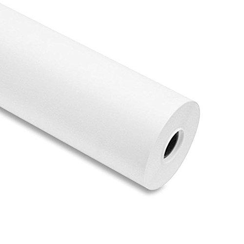 Papel para plóter, 90 g/m², 61cm x 50 m color blanco para Plotter EPSON y HP