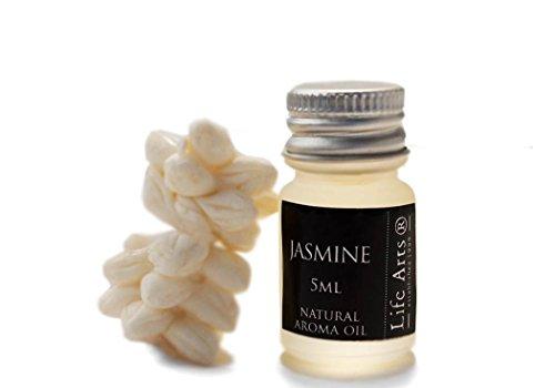 Profumo Olio Aromatizzato Jasmine Bottiglia Da 5 cl Fragranza Naturale (4cm x 2cm)