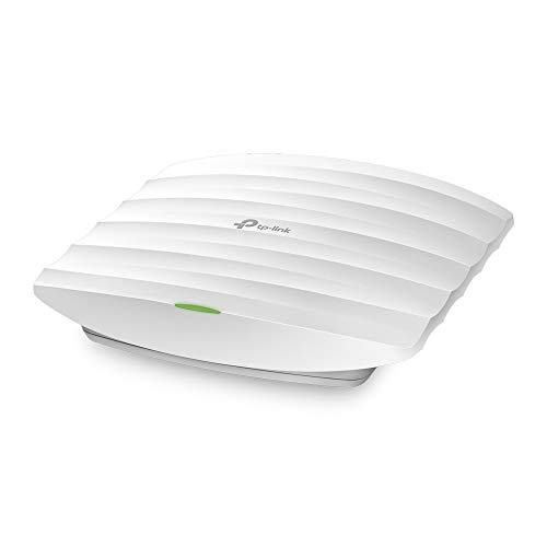 TP-Link EAP110 N300 Wireless Ceiling Mount Access Point, Support Passive PoE and Direct Current, Easily Mount to Wall or Ceiling, Simply Managed by Free EAP Controller Software