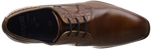 bugatti Herren 311252022100 Derby Braun (cognac 6300)